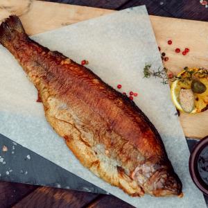 Рыба жаренная в маринаде ДОРАДО