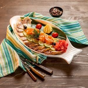 Морская тарелка