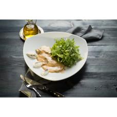 Теплый салат «Рукола с телятиной»