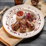 Люля-кебаб из баранины с вишней